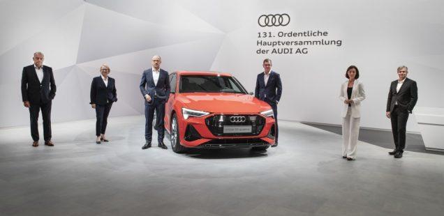 La Junta General Anual de Audi vota la transferencia de las acciones a Volkswagen AG