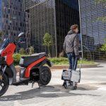 L'SEAT Mo eScooter 125 ELÈCTRICA ARRIBA A EL MERCAT