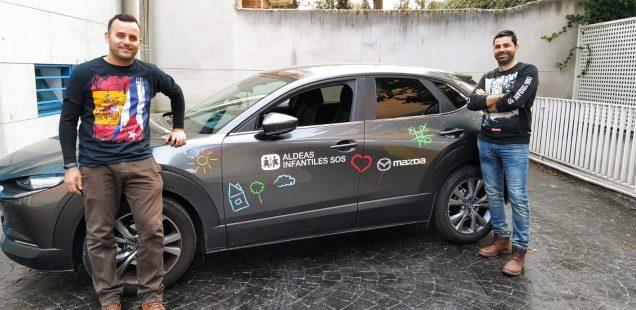 Mazda celebra 10 años de colaboración con Aldeas Infantiles SOS