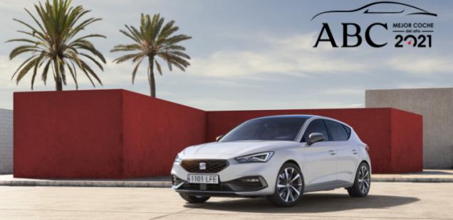 El SEAT León, distinguido con el premio 'ABC Mejor Coche del Año 2021'