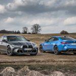 Los nuevos BMW M3 Competition y BMW M4 Competition Coupé con tracción M xDrive