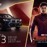 EL BMW IX3 FA EL SEU DEBUT CINEMATOGRÀFIC A »Shang-CHI I LA LLEGENDA DELS DEU ANELLS» DE MARVEL STUDIOS