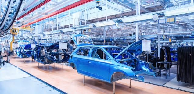 La producción mundial de automóviles podría reducirse en aproximadamente un 9% en 2022